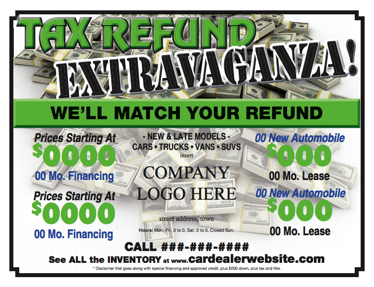 newspaper ad sample